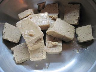 Zubereitung von Kastanien - Gemisch