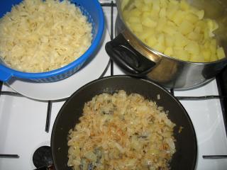 Zubereitung der Kartoffeln