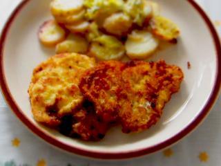 Hühnerschnitzel mit Tartar - Soße
