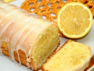 Süßes Zitronenbrot