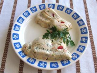 Gemüse-Ei-Presswurst