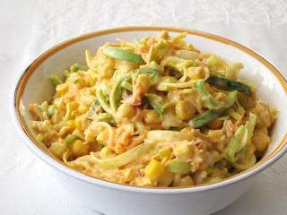 Cremiger Gemüsesalat mit Mango