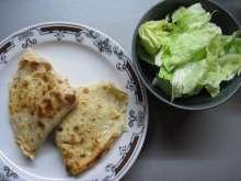Pfannkuchen mit Brimsenkäse