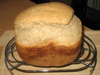 Ein leckeres Brot aus Brotbackmaschine