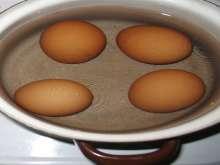 Zubereitung Eier