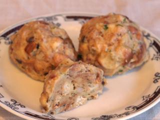 Schinken-Pilze-Semmelknödel