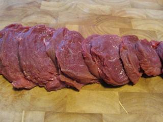 Zubereitung Fleisch