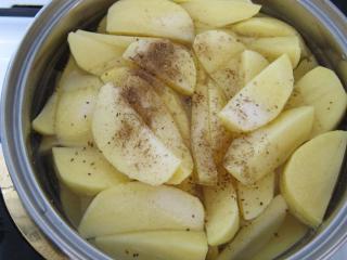 Zubereitung von Kartoffeln