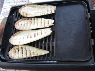 Auberginen - Grillen