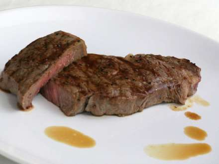 Steaks aus Rostbraten
