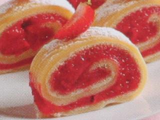 Erdbeerroulade