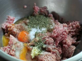 Fleischmischung vorbereiten