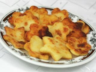 Kroketten aus Kartoffelbrei