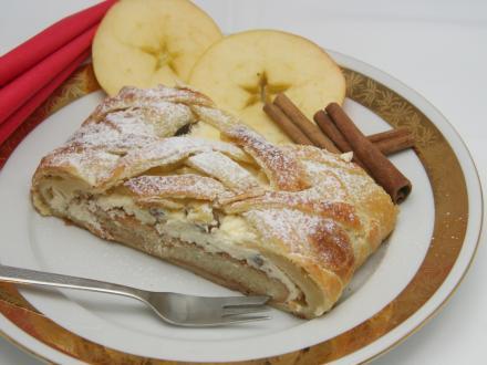 Apfelkuchen Harmonika