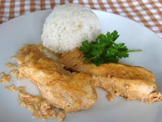 Hühnerbrust im Joghurt