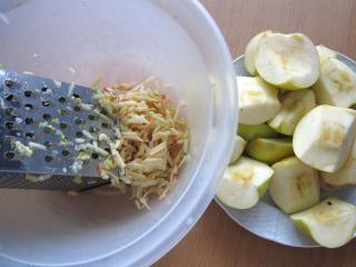Zubereitung von Äpfel