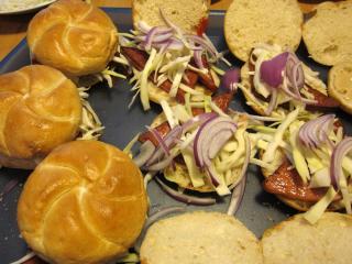 Hamburgers machen
