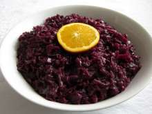 Rotkohl mit Orange