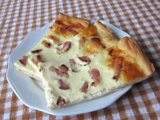 Brimsen - Pizzateig mit Speck