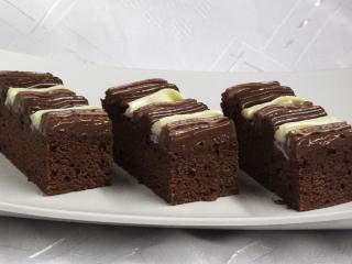 Cremige Kakaoschnitte