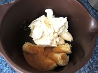 Bananen-Quark Füllung