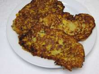 Kartoffelpuffer mit Mais