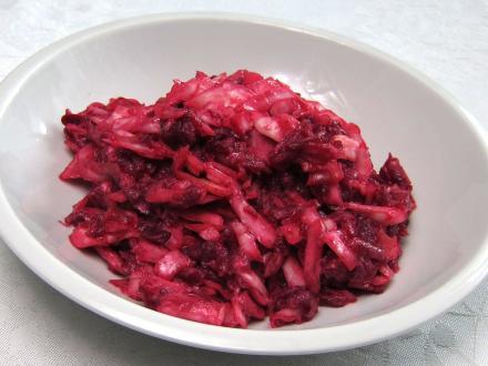 Cremiger Rote Bete-Kohl-Salat