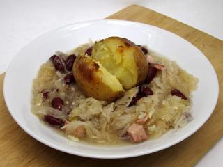 Sauerkraut-Bohnensuppe