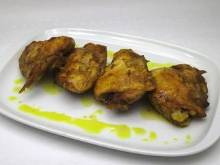 Hühnerfleisch mit Kurkuma