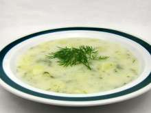 Dill Sahnesuppe