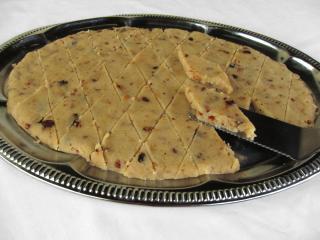 Indischer Grießkuchen