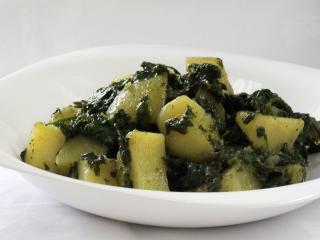 Spinatkartoffel