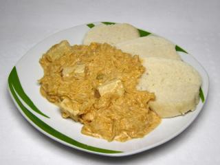 Tofu mit Sauerkraut