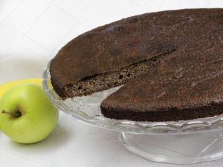 Mohnkuchen mit Obst