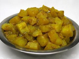 Kurkuma Kartoffeln