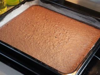 Biskuitteig mit Kakao