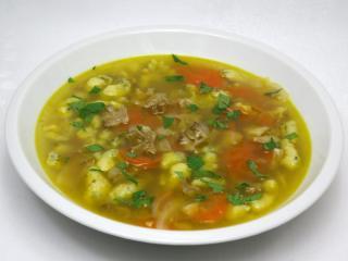 Suppe aus Waldpilze - Eichhase