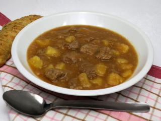 Kalbfleischeintopf mit Kartoffeln