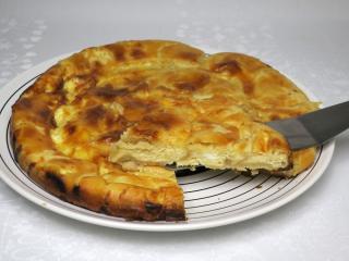 Balkaner Kuchen aus Blätterteig