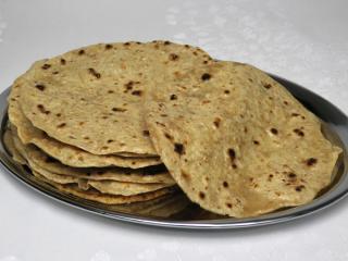 Indische Pfannkuchen - Chapati
