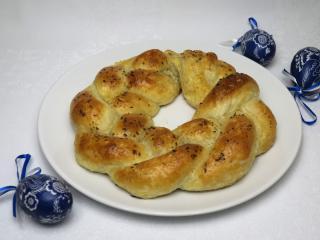 Salziger Käse-Keks