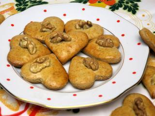 Traditionelle Nusslebkuchen