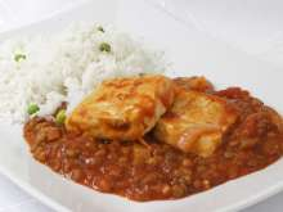 Tofu in Linsensauce