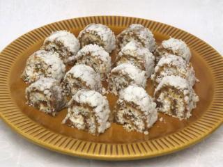Kokos-Rouladen