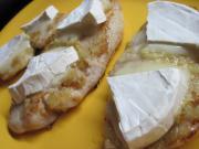 Hähnchenbrust mit Camembert Käse