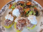 Gebackene Kartoffeln mit Thunfisch