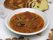 Weihnachtliche Sauerkrautsuppe