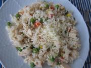 Hühner-Risotto mit Gemüse