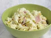 Pasta-Salat mit Käse