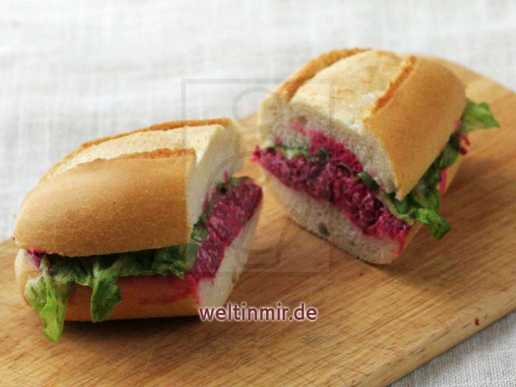 Rote-Bete Aufstrich • Rezept | weltinmir.de
